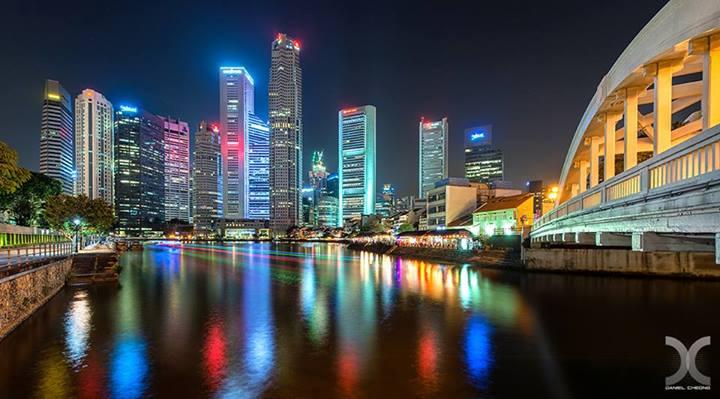 Before-Singapore River Comparison