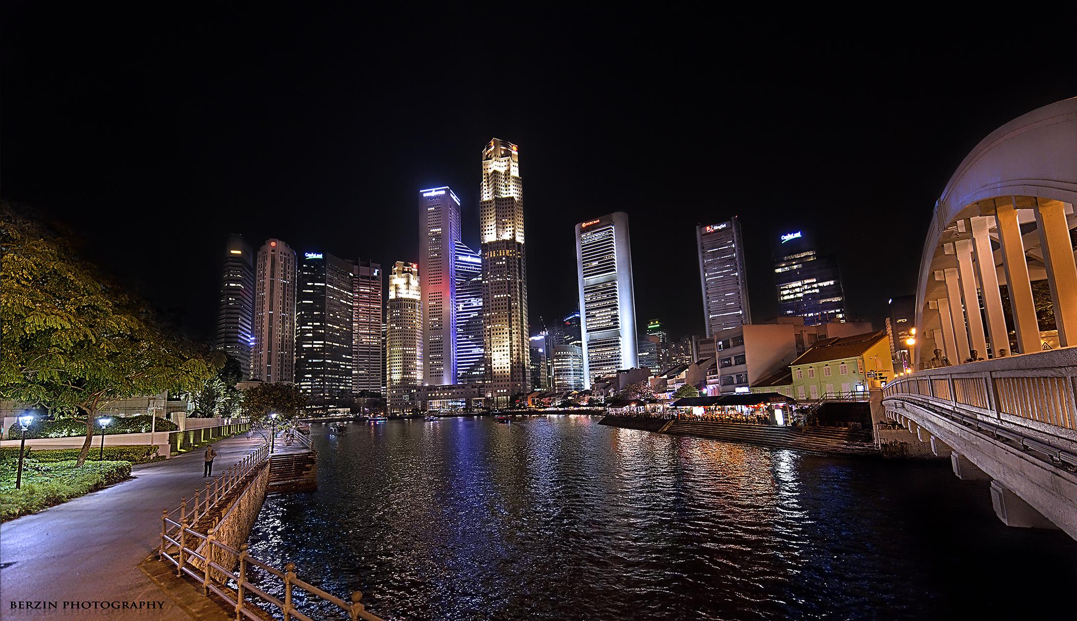 After-Singapore River Comparison