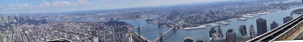 19 shots from the WTC observation deck: 9/6/2001