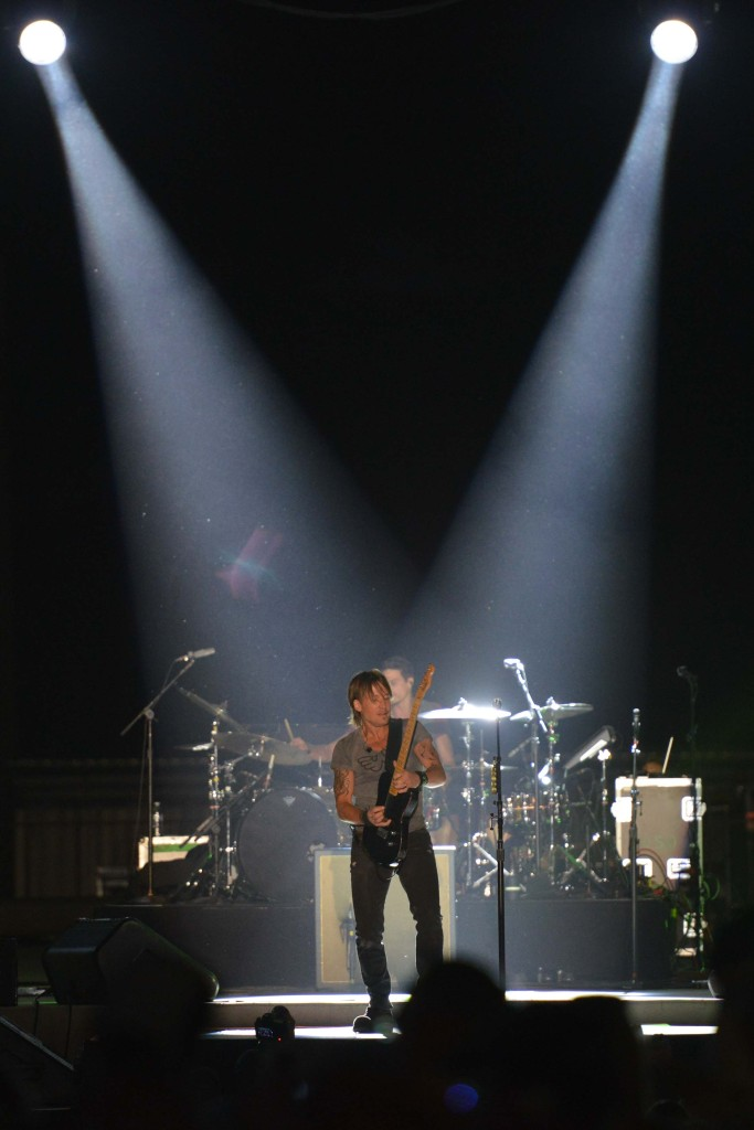 Keith Urban, Friday Headliner